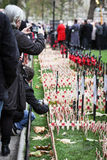 Remembrance Day: War Memorial stock photo