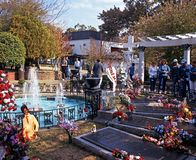 Remembrance gardens, Graceland. Royalty Free Stock Photos