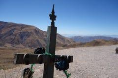 Remembrance / missing - capilla san rafael, salta, argentina stock image