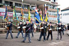 Remembrance parade Royalty Free Stock Photos