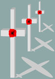 Remembrance Planes Royalty Free Stock Images