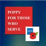 The remembrance poppy Royalty Free Stock Photo
