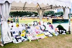 Remembrance wall at the Padang Stock Photos