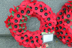 Remembrance Wreath Stock Images