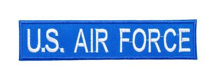 Remendo da força aérea fotografia de stock royalty free