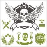 Remendos especiais das forças armadas da unidade Fotografia de Stock Royalty Free