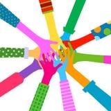 Remet l'unité diverse Photo libre de droits