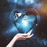 remet notre planète votre Photos stock