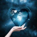 remet notre planète votre Image stock