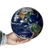 Remettez à prise la terre, y compris des éléments meublés par la NASA Photo libre de droits