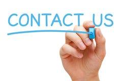 Contactez-nous concept Photo stock