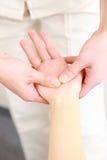 Remettez le massage Image libre de droits