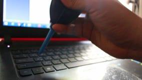 Remettez tenir le décapant de la poussière de pompe de ventilateur de silicone ou de ventilateur en caoutchouc pour le clavier banque de vidéos