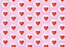 Remiendo de los corazones Fotografía de archivo libre de regalías