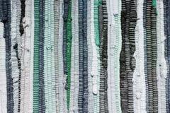Remiendo hecho a mano en tonos azules fotos de archivo