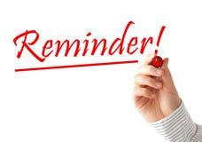 Free Reminder Stock Image - 48552401
