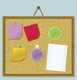 Reminder Board. Vector illustration of reminder board Stock Photography