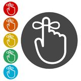 Reminder icon - Vector Illustration, simple icon. Reminder icon - Vector Illustration, simple vector icons set Stock Image