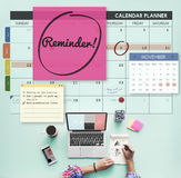 Reminder Important Memo Memory Notice Text Concept Royalty Free Stock Photography