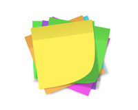 Reminder notes Royalty Free Stock Images