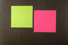 Reminder notes. On the dark background Royalty Free Stock Photography
