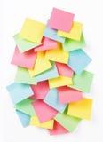 Reminder notes Stock Image