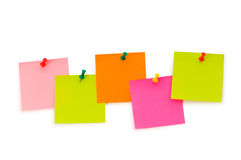 Reminder notes isolated Stock Images