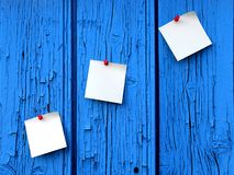 Reminder notes for messages Royalty Free Stock Images