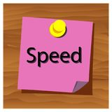 Reminder paper word think speed vector. Vector Illustration. Reminder paper word speed vector. Vector Illustration. EPS file available. see more images related vector illustration
