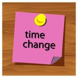 Reminder paper word time chance vector. Vector Illustration. EPS file available. see more images related stock illustration