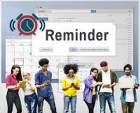 Reminder Planner Calendar Event Concept Stock Image