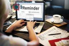 Reminder Planner Calendar Event Concept stock photography