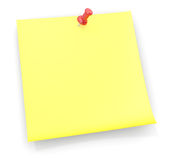 Reminder Sticky Note Royalty Free Stock Images