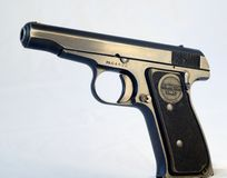 Remington Model 51 pistol Royalty Free Stock Photos
