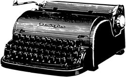 Remington Typewriter Royalty Free Stock Image
