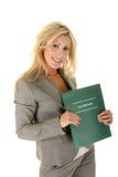 Remise d'impôts ! Image stock