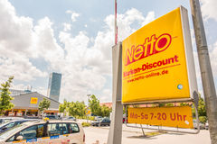 Remise de Netto Marken Photo stock