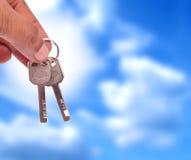 Remise des clés Image libre de droits