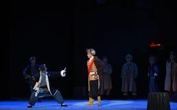 """Remise en cause de l'opéra d'espion-Pékin """"Taking le  de € de Tiger Montain By Strategyâ Image libre de droits"""