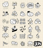 remisu ręki pogoda royalty ilustracja