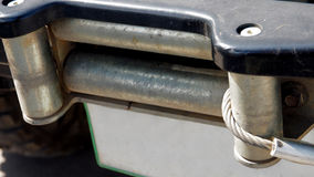 Remmar slung med en kärna 4W för främre stötdämpare Arkivbild