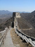 The remnant greatwall. The badaling remnant greatwall in china Stock Photography