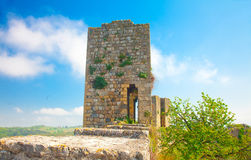 Remnant of an old guard tower Royalty Free Stock Photography