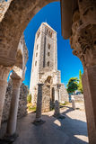 Remnants of Church on site of Monastery of St. John the Evangelist, Rab, Croatia Royalty Free Stock Image