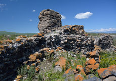 Remnants of an old fortress, Armenia Stock Image