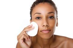 A remoção bonita da mulher negra compõe Imagens de Stock
