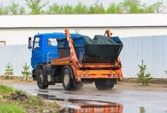 Remoção do lixo urbano Foto de Stock Royalty Free