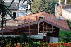 remodelado y renovación caseros - editorial Fotografía de archivo