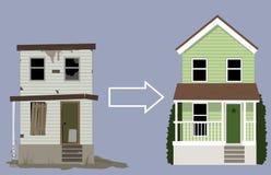 Remodelação da casa Imagens de Stock Royalty Free