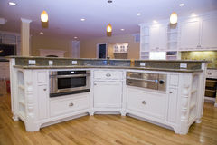 remodeled самомоднейшее кухни роскошное Стоковые Фотографии RF